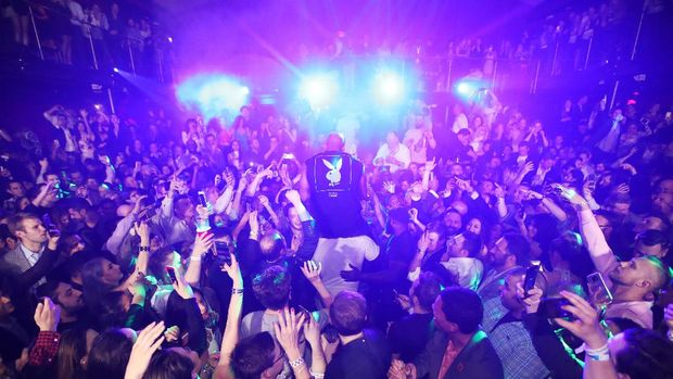 HOUSTON, TX - FEBRUARY 04:  Recording artist Flo Rida performs during the Playboy party with TAO at Spire Nightclub on February 4, 2017 in Houston, Texas.  (Photo by Christopher Polk/Getty Images for Playboy)