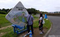 Wisatawan bisa berkeliling area taman hiburan (Rachman/detikTravel)