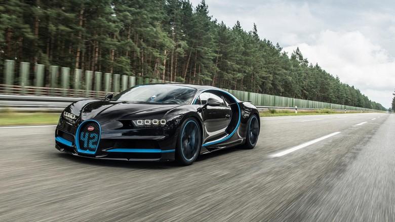 Bugatti Chiron Jadi Mobil Tercepat di Dunia. Foto: Dok. Bugatti