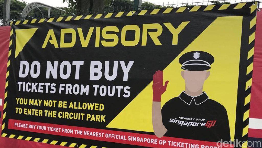 Beli Tiket dari Calo, Jangan Harap Bisa Tonton F1 Singapura