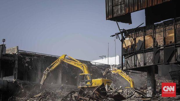 Sudah Dibongkar, Revitalisasi Pasar Senen Masih Belum Jelas