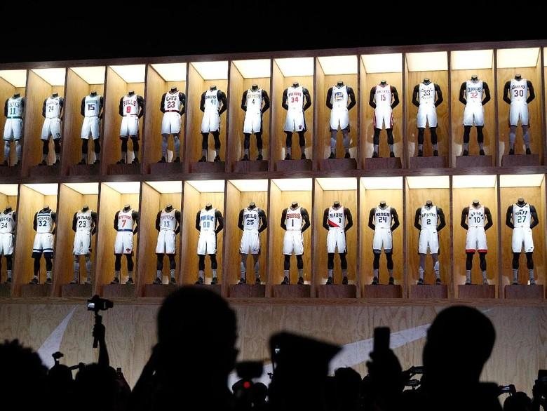 Terobosan Nike untuk Jersey Tim-tim NBA