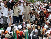 Prabowo di acara Aksi Bela Rohingya.