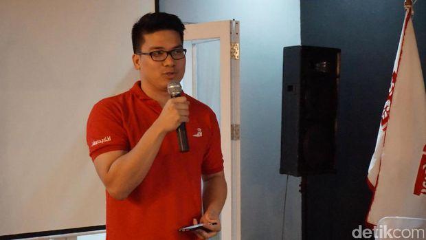 Ketua DPW PSI Jakarta Michael V Sianipar