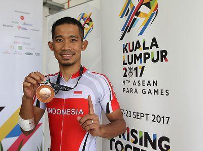 Dukungan Menpar untuk M Fadli di Asian Para Games 2018