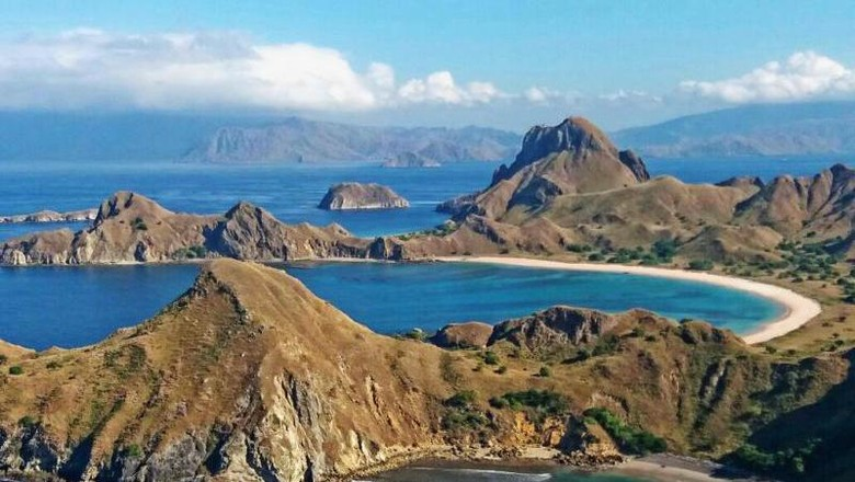 Ilustrasi Pulau Padar di Labuan Bajo (Bekti Yusti/dTraveler)
