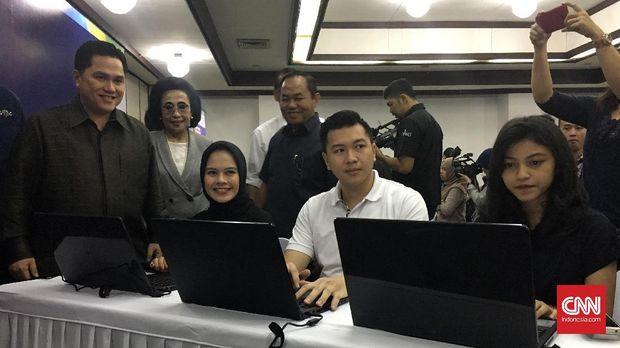 Panitia Pelaksana Asian Games 2018 (INASGOC) membuka pendaftaran 2000 relawan untuk uji coba Asian Games 2018, Senin (18/9) siang.