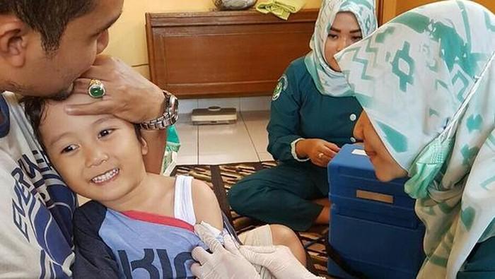 IDI tanggapi ancaman denda bagi masyarakat yang menolak pemberian imunisasi MR. Foto: Instagram