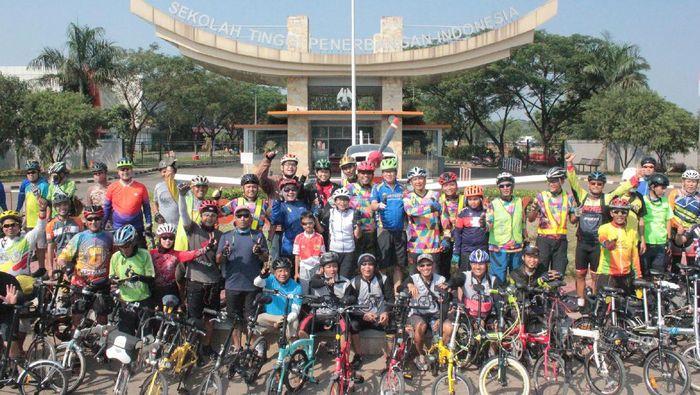 Komunitas sepeda lipat Selitangs berdiri pada awal September ini (ist.)