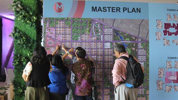 Apartemen Meikarta laris diincar hanya dalam waktu empat bulan sebelum Grand Launching.