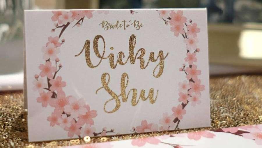 Kejutan Bridal Shower, Vicky Shu Cantik Banget!