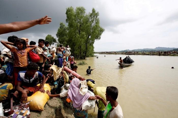 Bayi Rohingya meninggal di perbatasan