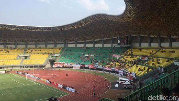 Stadion Patriot menjadi salah satu venue untuk Asian Games 2018. (Amalia Dwi Septi/detikSport)