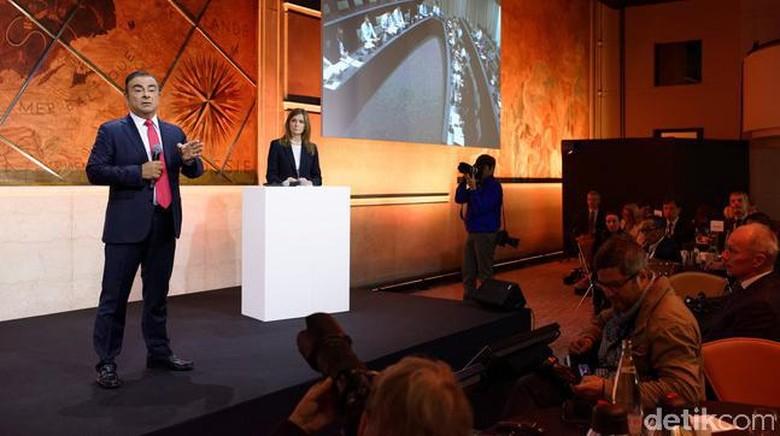CEO Aliansi Renault-Nissan-Mitsubishi Carlos Ghosn (Foto: Nissan)