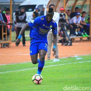 Tinggalkan Persib, Ezechiel Ndoaussel Gabung Bhayangkara FC