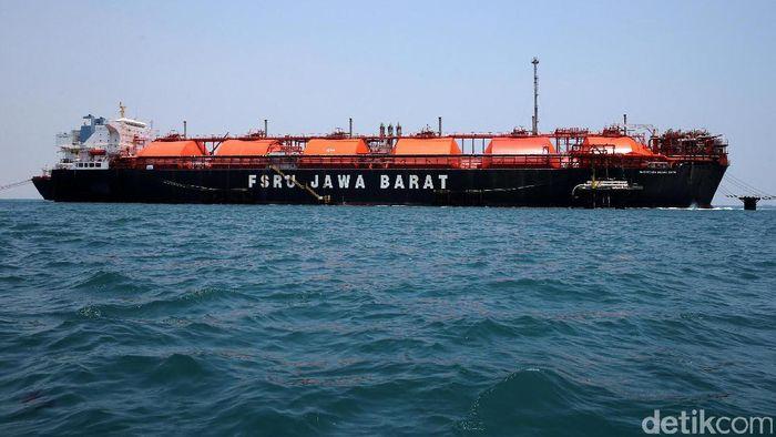 Ilustrasi Floating Storage Foto: Agung Pambudhy