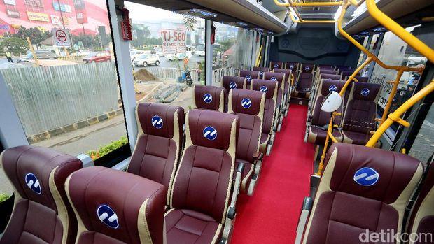 Bus Premium TransJabodetabek Bogor-Jakarta Diuji Coba Hari Ini