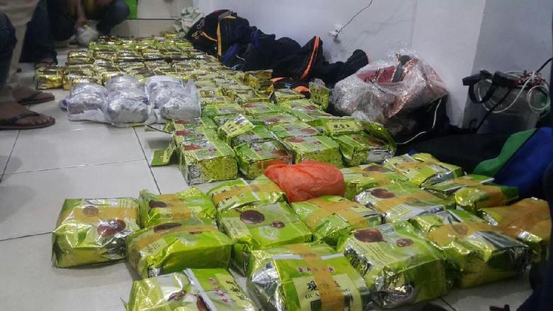 Tangkapan Narkoba Kakap di Lhokseumawe, 133 Kg Sabu & 42.500 Ekstasi