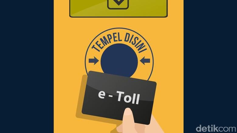 Mulai Hari Ini e-Toll Diberlakukan di Gerbang Tol Buahbatu Bandung