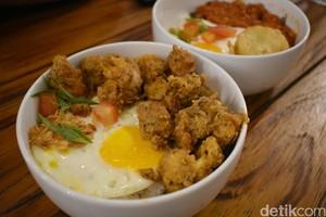 Eatsomnia: Lapar Tengah Malam? Di Sini Ada Rice Bowl Wagyu Rica dan Ayam Telur Asin