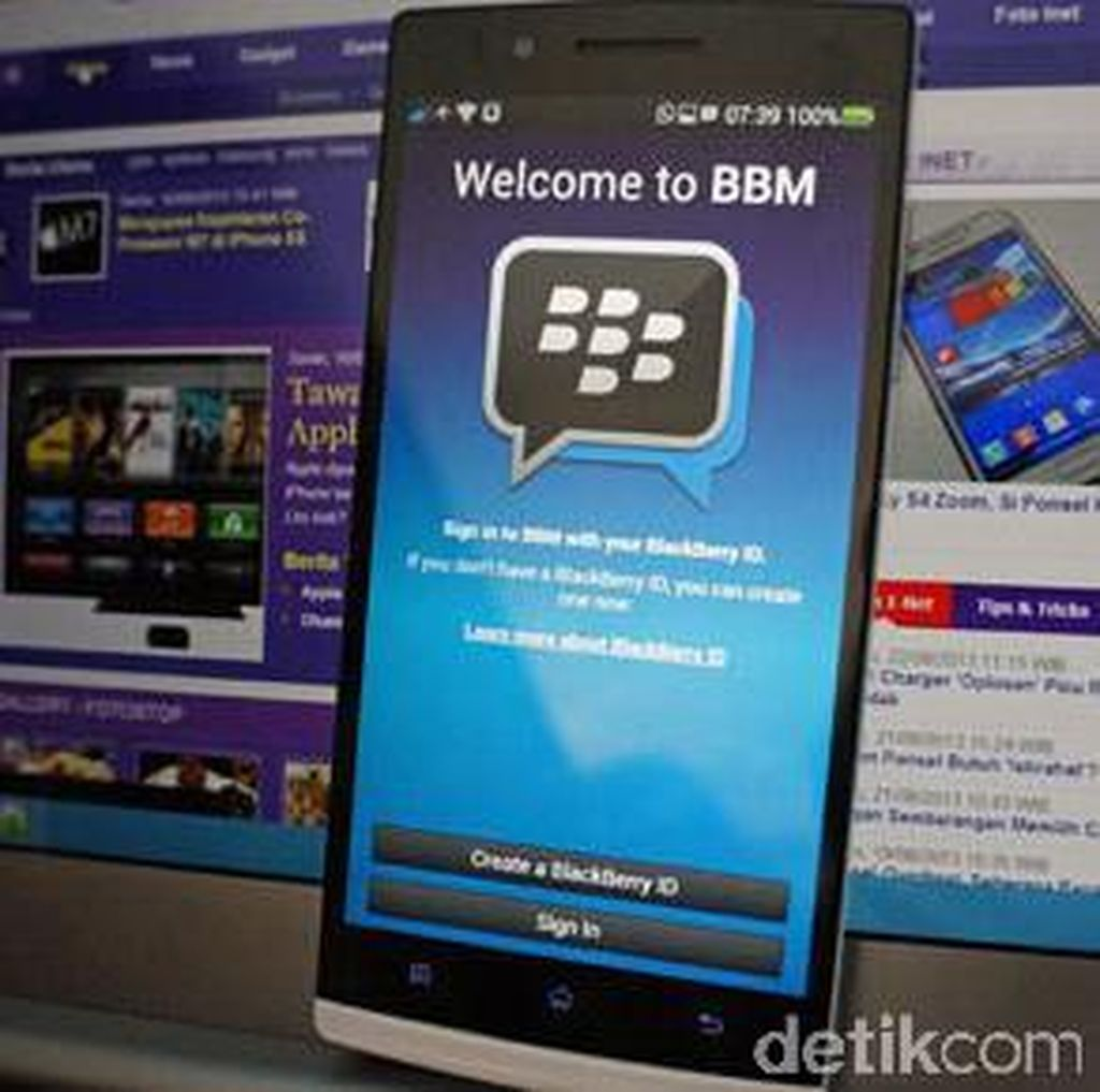 BlackBerry Messenger Berhenti Beroperasi 31 Mei 2019
