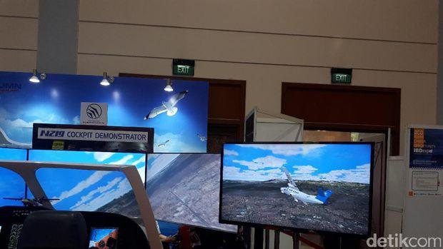 Flight simulator pesawat N219