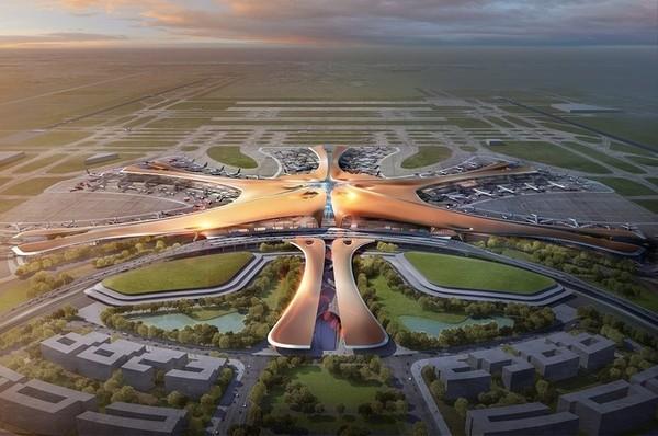 Penerbangan komersial pertama di Bandara Internasional Beijing Daxing (PKX) akan lepas landas sekitar 20 September. (CNN)