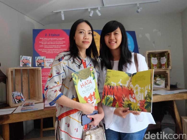 Cerita Penulis Garap Buku Anak Hata Suka Durian