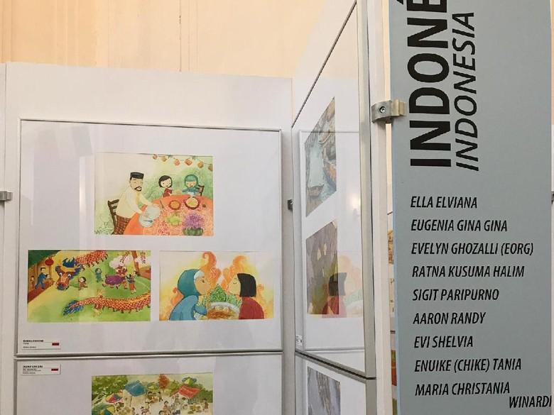 10 Ilustrator Indonesia Harumkan Nama Bangsa di Slowakia