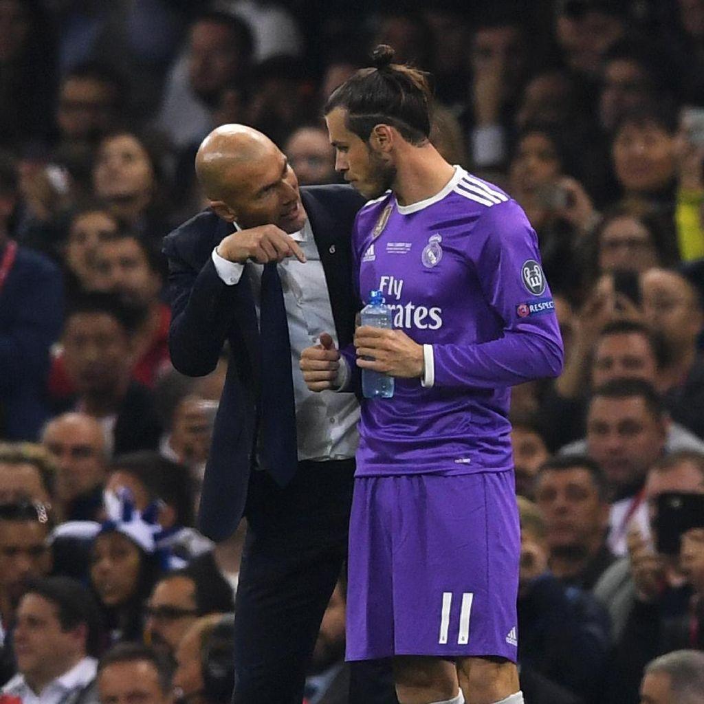 Bale Vs Zidane Memanas, Statistik Keduanya Dibandingkan