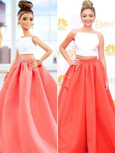 Saat Barbie Tiru Gaya Seleb di Karpet Merah Pakai Gaun Desainer