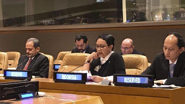 Menlu Retno Marsudi menyebut Myanmar membuka akses diplomatik ke Rakhine.