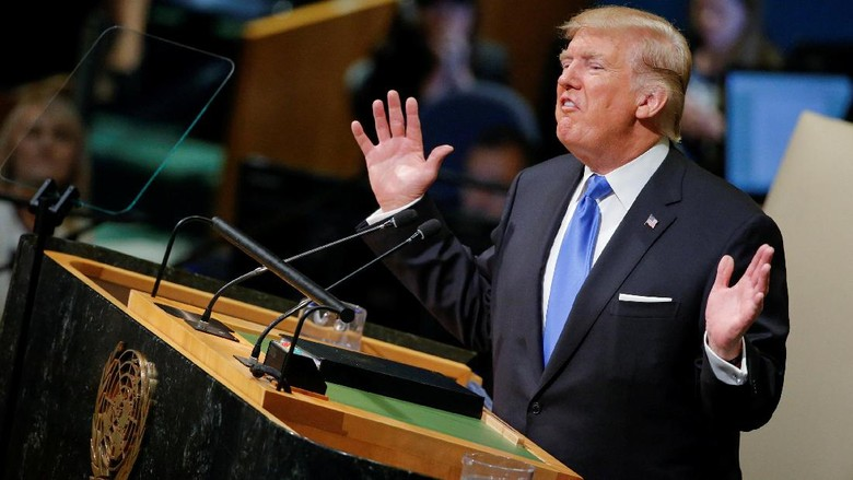Disebut Trump Sebagai Rezim Pembunuh, Iran Geram
