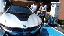 BMW Akan Sediakan Stasiun Pengisian Baterai Mobil Listrik