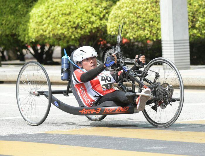 Foto: Atlet Paracycling Sumbang Medali di Para Games 2017 (Dok. Kemenpora)