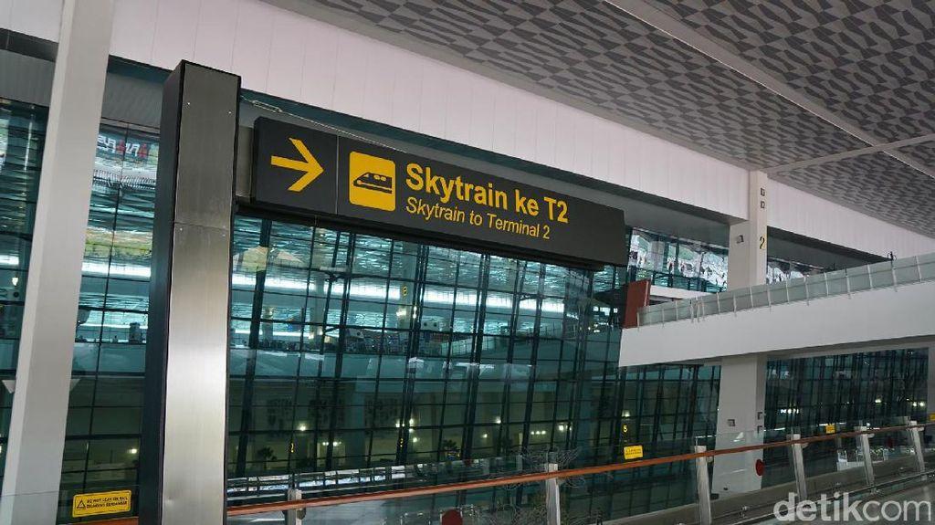 AP II bakal Tambah Skytrain di Bandara Soekarno Hatta