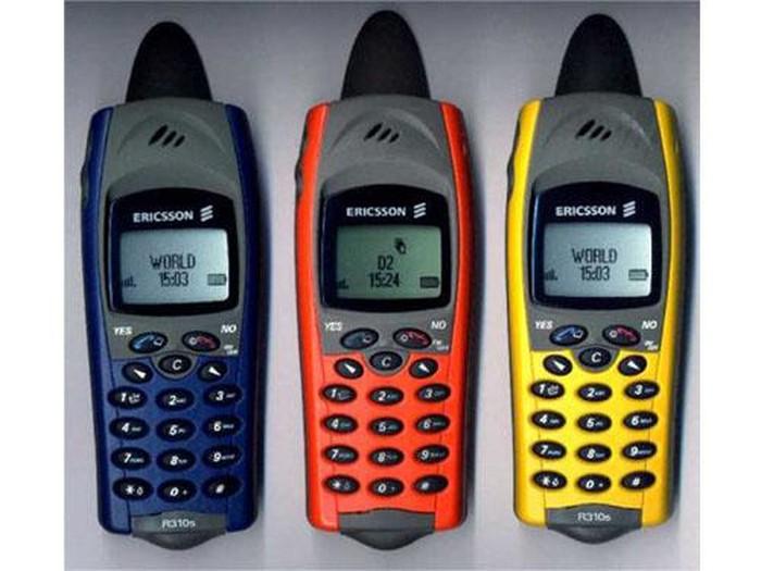 Ericsson R310. Foto: istimewa