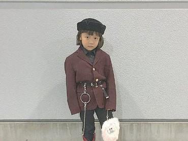 Coco sendirilah yang memilih pakaiannya sendiri untuk sesi foto. (Foto: Instagram @coco_pinkprincess)