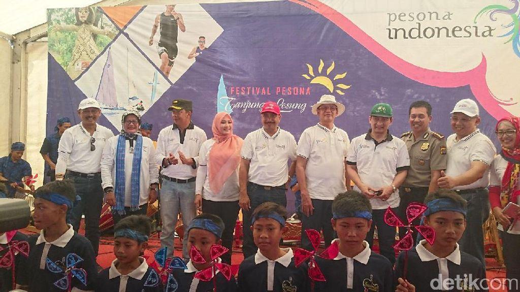 Menpar Arief Yahya Buka Festival Pesona Tanjung Lesung