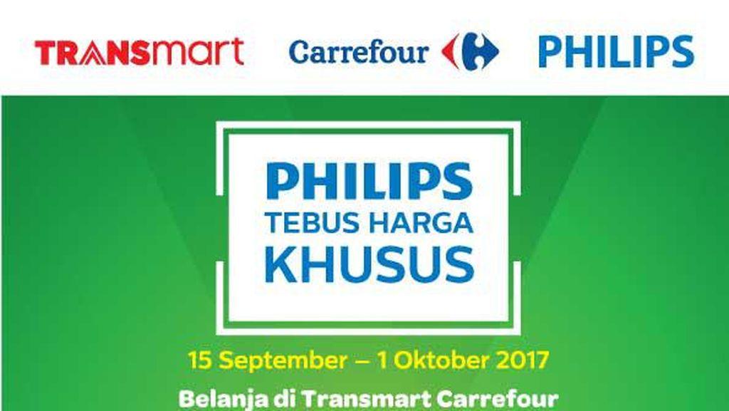 Tebus Elektronik Harga Khusus di Transmart Carrefour