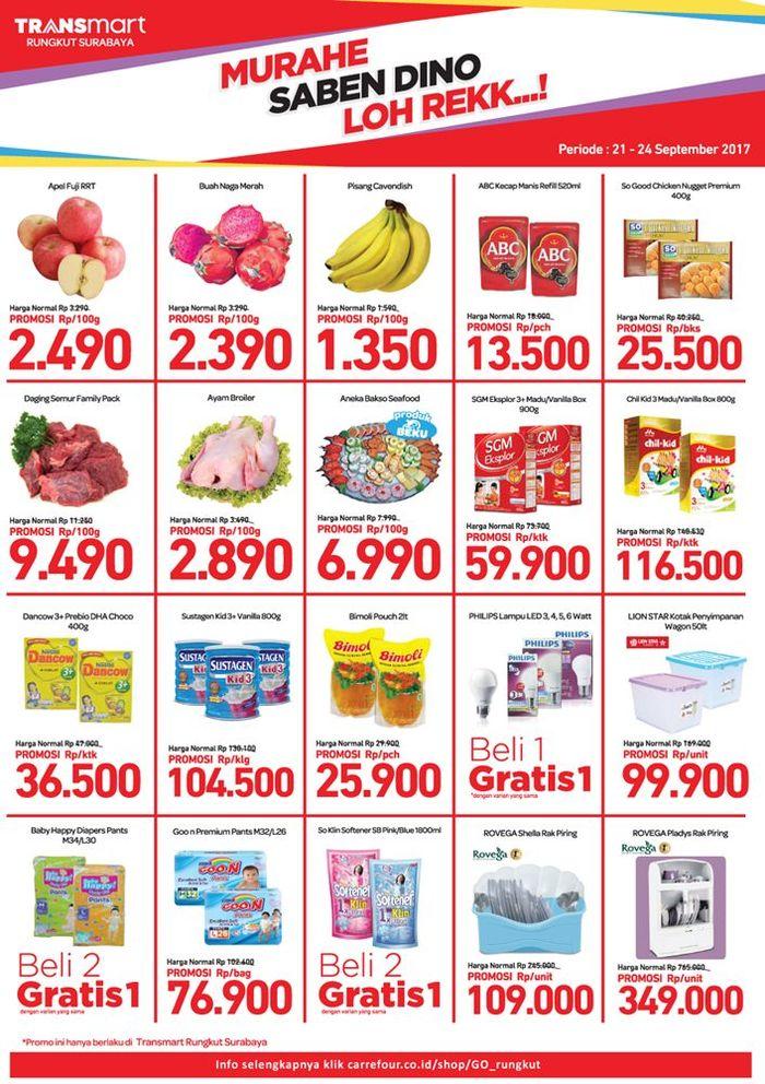 Foto: Promo Ayam & Daging di Transmart Rungkut Surabaya (Dok. Transmart Carrefour)