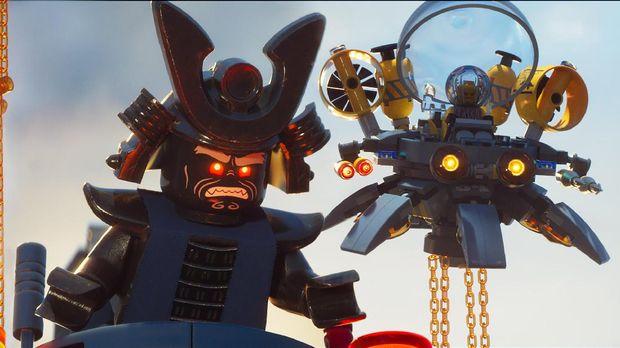 Lord Garmadon, penjahat di The LEGO Ninjago Movie.