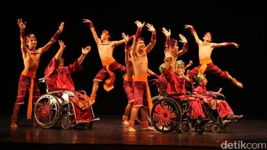 Pentas Gala Balet Indonesia ke-2 Ajak Penari Difabel