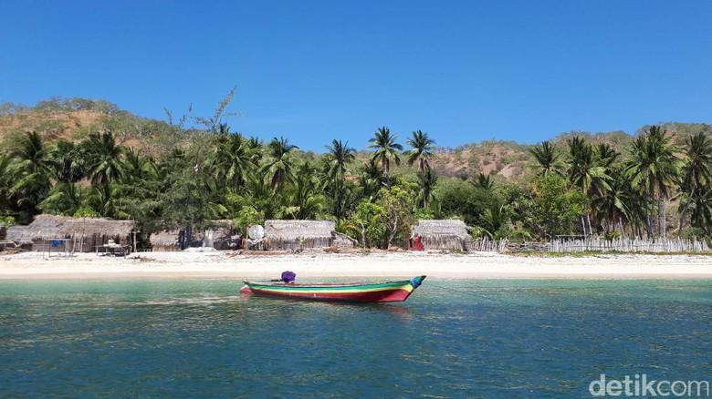 Pulau Liran, keindahan yang terlupakan di perbatasan RI-Timor Leste (Eduardo/detikTravel)