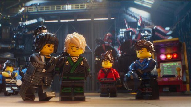 Para ninja di The LEGO Ninjago Movie.