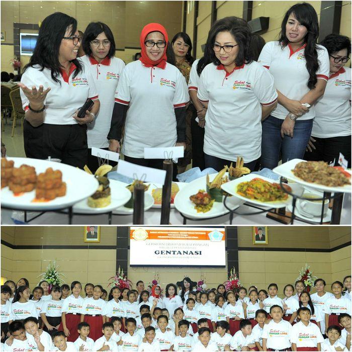 Foto: Gerakan Makan Tanpa Nasi Dikenalkan (Dok. Kementan)
