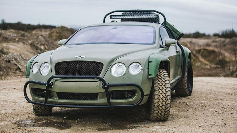 Bentley Continental GT Rally Foto: Pool (Carsscoop)