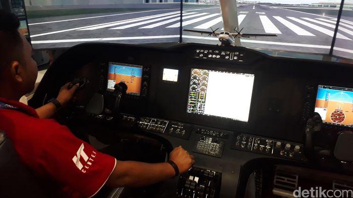 PT Dirgantara Indonesia (PTDI) menyediakan mesin cockpit demostrator untuk pesawat N219 di gelaran Indonesian Business dan Development (IDB) Expo 2017 di JCC Senayan, Jakarta.