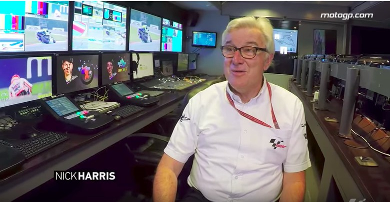 Komentator MotoGP, Nick Harris. Foto: Screenshot Youtube MotoGP