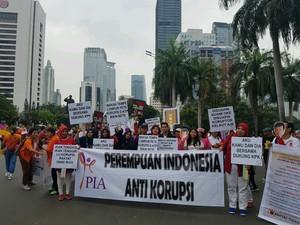 Perempuan Anti Korupsi Minta Jokowi Dukung KPK di Kasus e-KTP